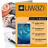 uwazi 3X Satin-matt Schutzfolie für Huawei MediaPad M3 Lite 10 Bildschirmschutzfolie I Folie I Anti Fingerabdruck I Anti Kratzer