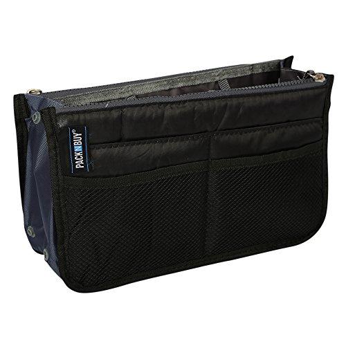 PackNBUY BLACK Handbag Purse Switcher Travel Storage Organizer kit