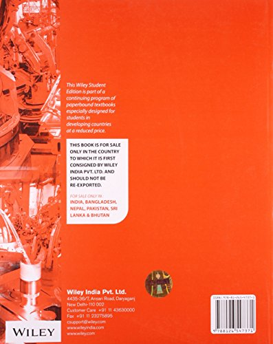 Principles of Modern Manufacturing, 5ed, SI Version (WSE)