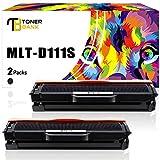 Toner Bank 2 Pack Kompatibel Toner für MLT-D111S MLT-D111L für Samsung Xpress SL-M2020 M2020W M2022 M2022W M2070 M2070W M2070F M2070FW M2026W