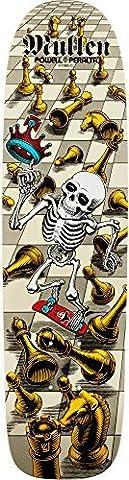 powell-peralta Bones Brigade Deck Rodney Mullen, weiß von Skate One Corporation