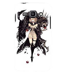 Printvisa Witchish Girl Pick Back Case Cover for Samsung Galaxy Ace 3::Samsung Galaxy Ace 3 S7272