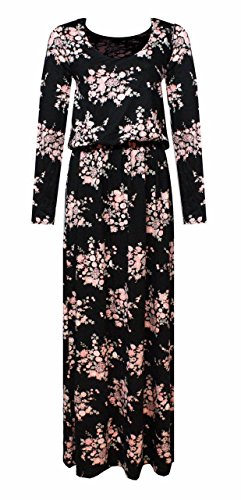 N&L Private LTD - Robe - Robe - Femme motif floral rose