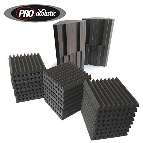 afhs2-pro-acoustic-foam-home-studio-kit-24x-afw305-4x-bassblock-bass-traps-24-tiles-4-traps