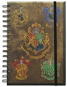 Harry Potter Crests Notebook from Harry Potter