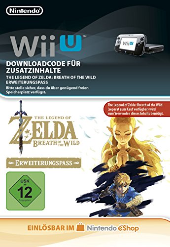 Zelda: Breath of the Wild Expansion Pass DLC [Wii U Download Code]