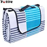 Kottle Foldable Large Picnic Blanket Waterproof and Sandproof Outdoor Blanket, Beach Mat for Camping, Hiking, Park