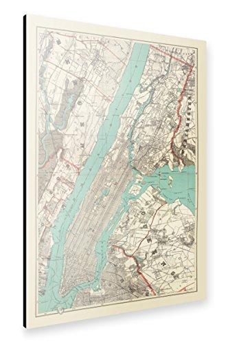 artboxONE Alu-Print 150x100 cm Städte Städte / New York Reise