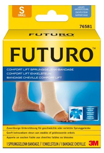 futuro bandagen FUTURO FUT76581 Comfort Sprunggelenk-Bandage, beidseitig tragbar, Größe S, 25,4 – 31,8 cm