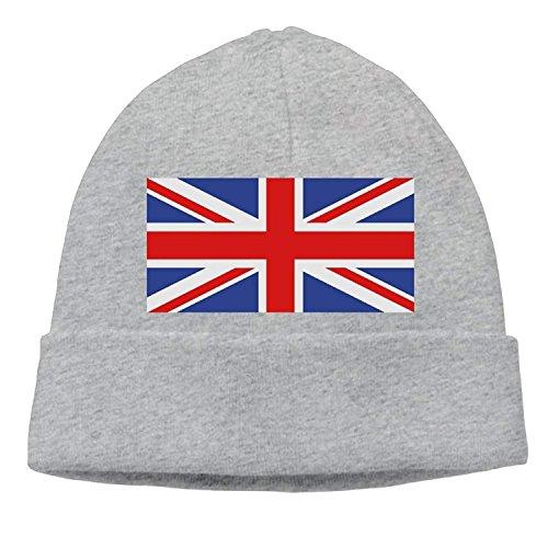 Basketball Reversible Beanie (Paint0 Great Britain's Flag Knit Skull Cap Unisex Reversible Beanie Hat for Men and Women)