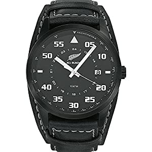 All Blacks 680161 - Reloj de pulsera hombre, piel, color negro de All Blacks