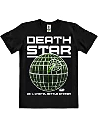 Star Wars - Rogue One - Death Star T-Shirt 100 % coton organique (agriculture biologique) - noire - design original sous licence - LOGOSHIRT