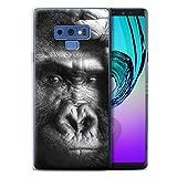 Stuff4 Coque Gel TPU de Coque Samsung Galaxy Note 9/N960 / Gorille/Singe...