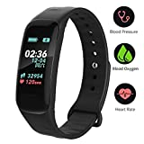 DAWO Fitness Tracker mit Pulsmesser Fitness Bracelet Color Screen Activity Tracker