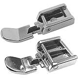 ZickZackNaehmaschine Silvercrest - Juego de 2 prensatelas para máquina de Coser Silvercrest