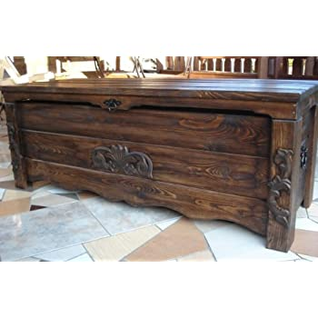 Sheesham Wood Rosewood Chest Coffee Table Classic Thakat Trunk