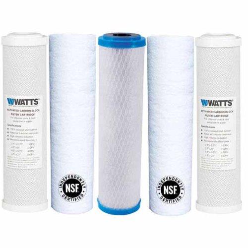 Watts Premier Umkehrosmose (WATT PREMIER wp4V Ersatz Filter Pack für Umkehrosmose System)