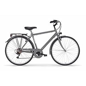 MBM Touring, Bicicletta Uomo, Grigio A09, 54