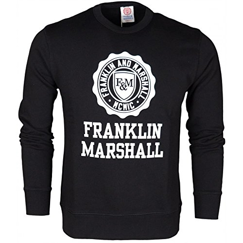 Franklin & Marshall -  Felpa  - Uomo Black X-Large