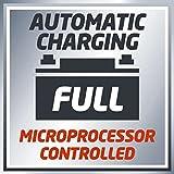Einhell Batterie Ladegerät CC-BC 10 M (für Batterien von 3 - 200 Ah, Ladespannung 6 V / 12 V, Winterlademodus, LCD-Batteriespannungs- und Ladefortschrittsanzeige) für Einhell Batterie Ladegerät CC-BC 10 M (für Batterien von 3 - 200 Ah, Ladespannung 6 V / 12 V, Winterlademodus, LCD-Batteriespannungs- und Ladefortschrittsanzeige)