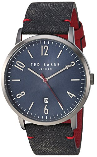 Ted Baker Men's 'DANIEL' Quartz Stainless Steel Casual Watch, Color:Blue (Model: TE50279002)