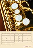 Musik-Wandkalender-2018-DIN-A4-hoch-Fotografien-von-Musikinstrumenten-Planer-14-Seiten-CALVENDO-Kunst-Kalender-Apr-01-2017-Jger-AnetteThomas