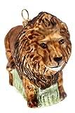 Hamburger Weihnachtskontor - Christbaumschmuck aus Glas -Löwe