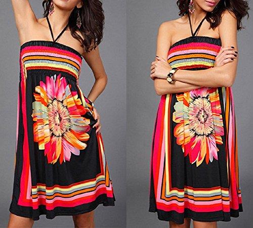 Landove Damen Kleid color 01
