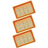 3 filtri a pieghe piatte per aspirapolveri Kärcher multiuso, per aspirapolvere a umido e a secco, MV4 + MV5 + MV6 + WD4 + WD5 + WD6, come 2.863-005.0 WD 4-6 e MV 4-6