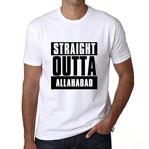 Straight Outta Allahabad, t shirt, t shirt herren, geschenk tshirt