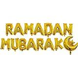 Moonbird 16 '' Happy Eid Mubarak Ramadan Brief Folienballons Dekoration Alphabet Banner Mond Set Partei Liefert Für Muslim