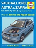 Vauxhall / Opel Astra & Zafira, February 1998 to April 2004 (R registration onwards) Petrol (Haynes Service and Repair Manuals) by Legg, A. K., Randall, Martynn 2nd (second) Revised Edition (2004)