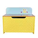 Labebe Wooden Kid Furniture 2-en-1 Toy Box & Bench Chair, perfecto...