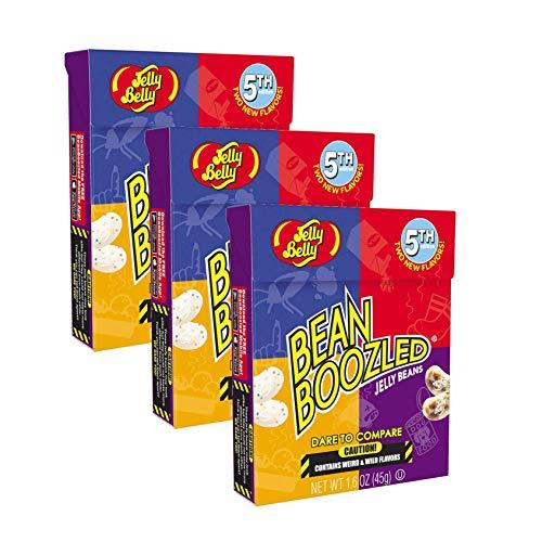 Kostüm Erwachsenen Salz Für - 3x Bean Boozled Flip Top Box, Nachfüllpackung für das verrückte Bohnenspiel