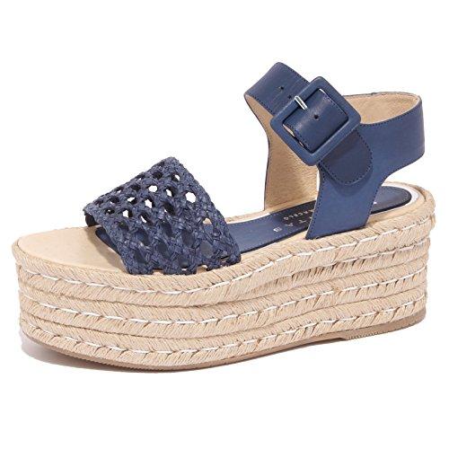 8917P sandalo PALOMITAS BY PALOMA BARCELO blu scarpa donna sandal woman [38]