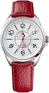 Reloj Tommy Hilfiger 1781265 de cuarzo para mujer con correa de piel, color rojo de Tommy Hilfiger