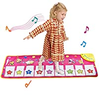 GZMY Piano Music Dance Mat for Kids