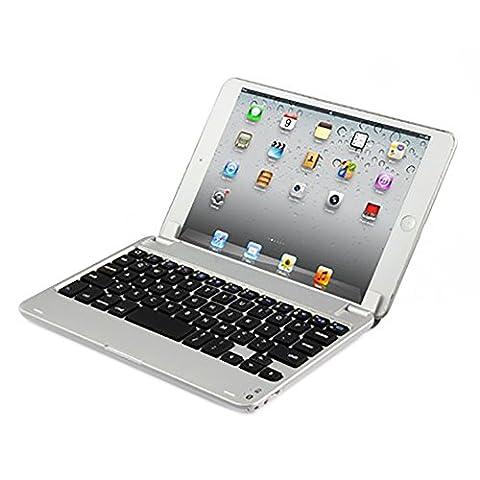 mondpalast@ schlanke Aluminium Bluetooth Tastatur QWERTY fur APPLE IPAD mini MINI 1 2 3