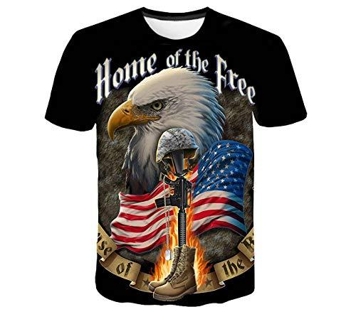 Neue Banner T-Shirt männlich/weiblich Sinn 3D dreidimensionalen Druck gestreiften Banner Herren T-Shirt Sommer Shirt atmungsaktiv cool 3D-Mode Sommer lustig lässig
