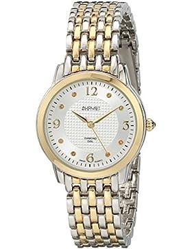 August Steiner Damen-Armbanduhr Analog Display Swiss Quarz Zwei Ton