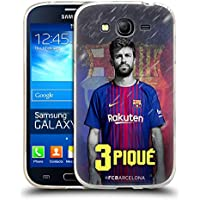 Official FC Barcelona Gerard Piqué 2017/18 First Team Group 1 Soft Gel Case for Samsung Galaxy Grand Neo