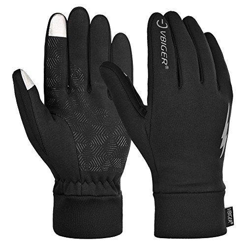 Vbiger TouchscreenHandschuhe Sport Handschuhe Trainingshandschuhe Rutschfest Handschuhe Vollfingerhandschuhe Trainingshandschuhe - 9