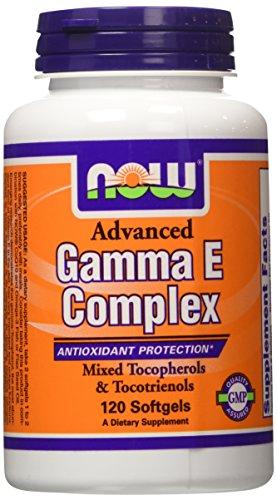 Now Foods, Gamma E Complex ( Vitamin E ) x120cops avec Tocotrienols & Tocopherols