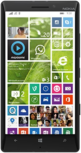 "Nokia Lumia 930 - Smartphone libre Windows Phone (pantalla 5"", cámara 20 Mp, 32 GB, Quad-Core 2.2 GHz, 2 GB RAM), negro [importado]"