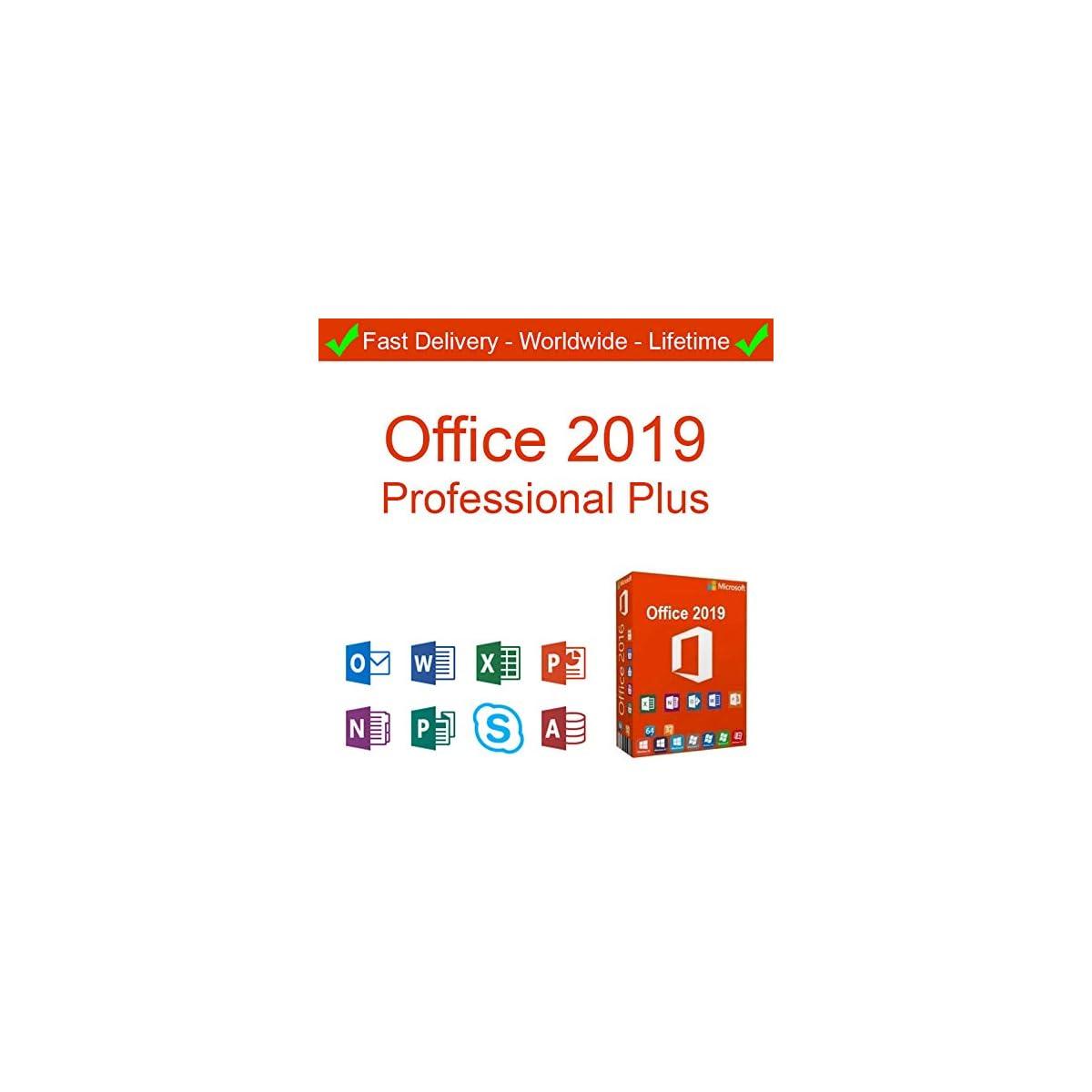 Microsoft Office 2019 Pro Plus 1 Pc Digital License Key Easy To