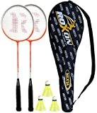 #6: Roxon Nexta Badminton Racquet Set with Attractive cover and Shuttlecock