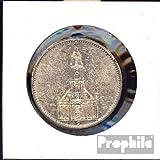 Deutsches Reich Jägernr: 357 1935 E sehr schön Silber 1935 5 Reichsmark Garnisonskirche ohne D (Münzen für Sammler)