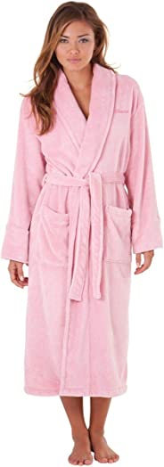 Luxurious Pink Bathrobe And Bath Collection 3 Piece Set GiftBox