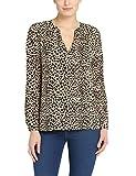 Berydale Damen Loose Fit Bluse BD314, Gr. 36 (Herstellergröße: S), Mehrfarbig (Leopard Leopard)