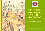 London Zoo Art for London Transport Book of Postcards